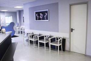 Wartebereich Dermatohistologisches Labor